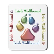 Wolfhound Name2 Mousepad