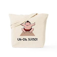 Uh Oh Sumo Tote Bag
