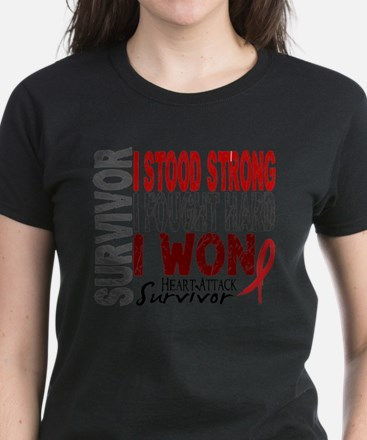 Survivor 4 Heart Attack Shirts and Gifts T-Shirt