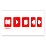 TECHNOLOGY Rectangle Sticker 10 pk)