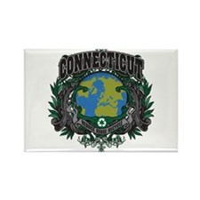 Connecticut Green Pride Rectangle Magnet