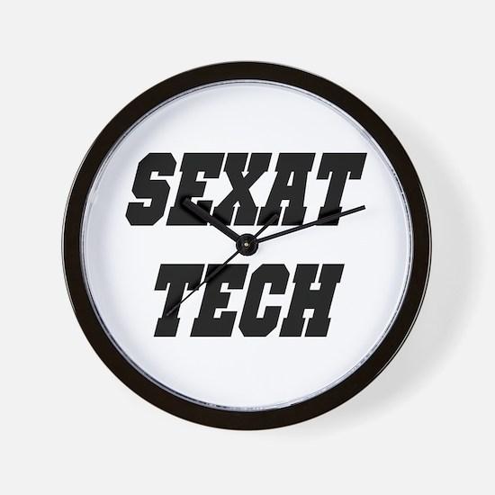SEXAT TECH Wall Clock
