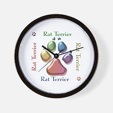 Rat Name2 Wall Clock