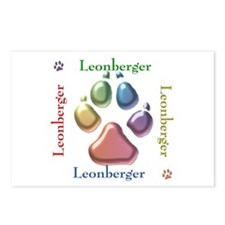 Leonberger Name2 Postcards (Package of 8)