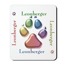 Leonberger Name2 Mousepad