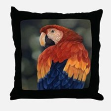 Tropical Cool Throw Pillow