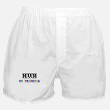 Nun In Training Boxer Shorts