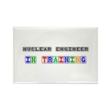 Nuclear Engineer In Training Rectangle Magnet