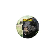 Black Bear Mini Button (100 pack)