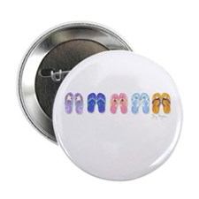 """5 Pairs of Flip-Flops 2.25"""" Button (10 pack)"""