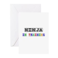 Ninja In Training Greeting Cards (Pk of 10)