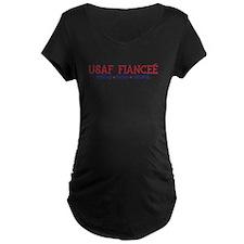 Strong, Proud, Faithful - USAF Fiancee T-Shirt