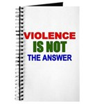 Violence is Not the Answer Journal