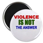 Violence is Not the Answer Magnet