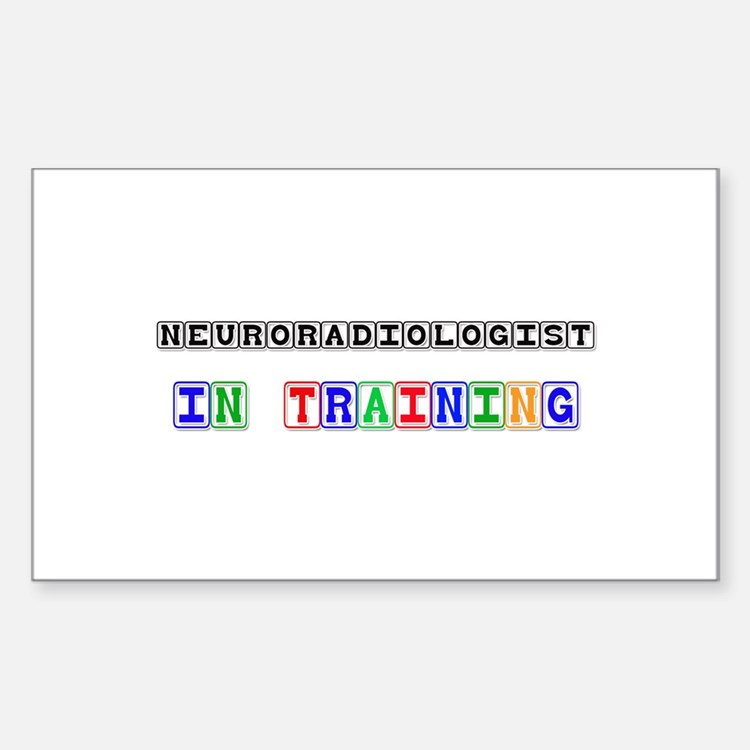 Neuroradiologist In Training Rectangle Decal