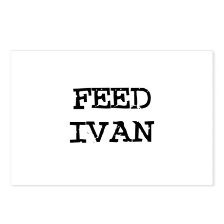 Feed Ivan Postcards (Package of 8)