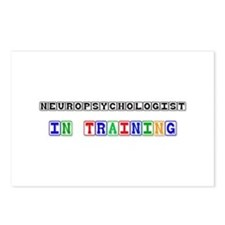 Neuropsychologist In Training Postcards (Package o