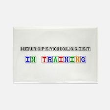 Neuropsychologist In Training Rectangle Magnet