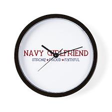 Strong, Proud, Faithful - Navy Girlfriend Wall Clo