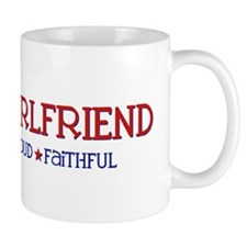 Strong, Proud, Faithful - Navy Girlfriend Mug