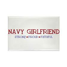 Strong, Proud, Faithful - Navy Girlfriend Rectangl