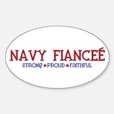 Strong, Proud, Faithful - Navy Fiancee Decal