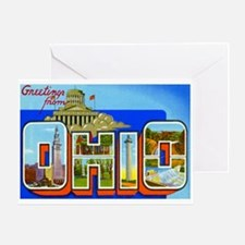 Ohio OH Greeting Card
