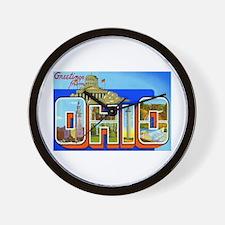 Ohio OH Wall Clock