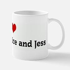 I Love Flick, Vic, Juice and Mug