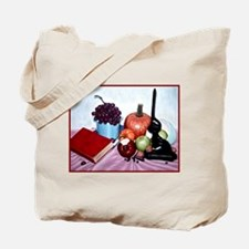 Still Life with Bite Tote Bag