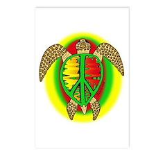 Reggae Turtle Postcards (Package of 8)