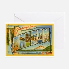 Oregon OR Greeting Card
