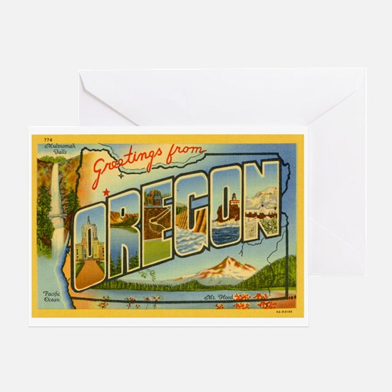 Oregon OR Greeting Card