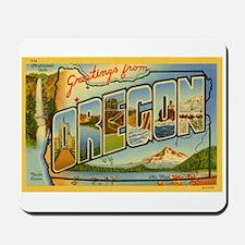 Oregon OR Mousepad