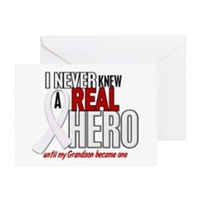 Never Knew A Hero 2 PEARL (Grandson) Greeting Card