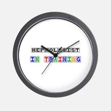 Nephologist In Training Wall Clock