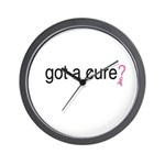 Got a cure? Wall Clock