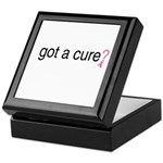 Got a cure? Keepsake Box