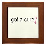 Got a cure? Framed Tile