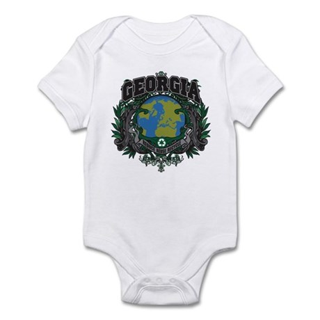 Georgia Green Pride Infant Bodysuit