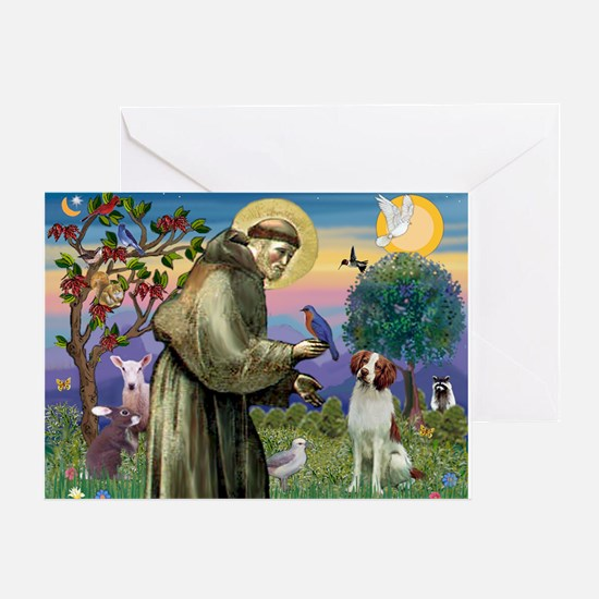 St. Fran. / Brittany Greeting Card
