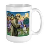 St. Fran. / Brittany Large Mug