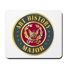 Art History Major College Course Mousepad