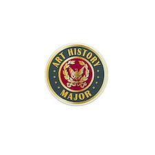 Art History Major College Course Mini Button