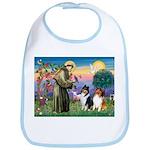 St Francis / Collie Pair Bib