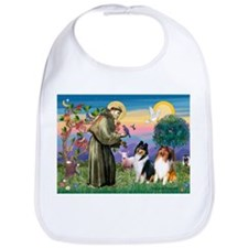 St Francis / Collie Pair Bib