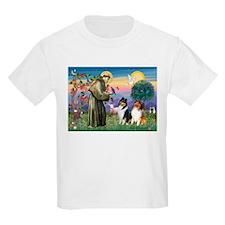 St Francis / Collie Pair T-Shirt