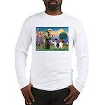 St Francis / Collie Pair Long Sleeve T-Shirt