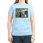St. Francis & Collie Women's Light T-Shirt