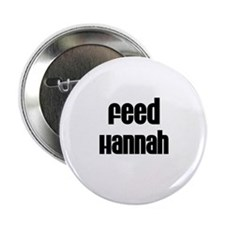 """Feed Hannah 2.25"""" Button (10 pack)"""